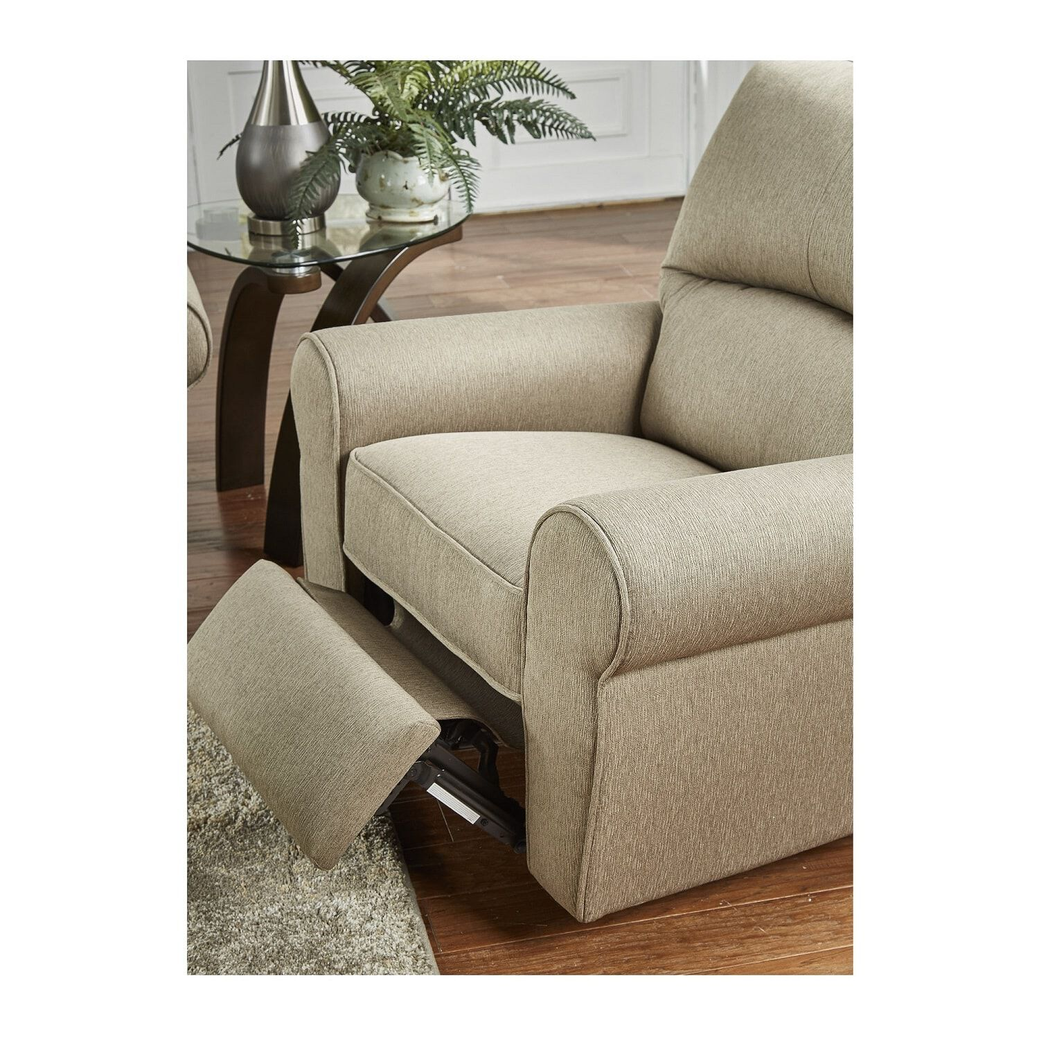 Promo Chaise Gamer 2 Piece Hayden Chaise Sofa And Recliner Living Room Collection